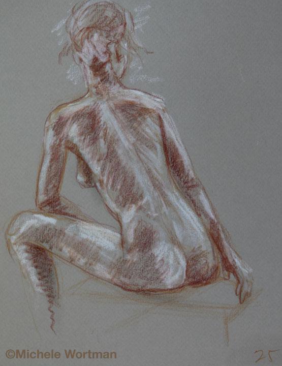 Michele Wortman - Palette&Chisel 2010  25min sketch