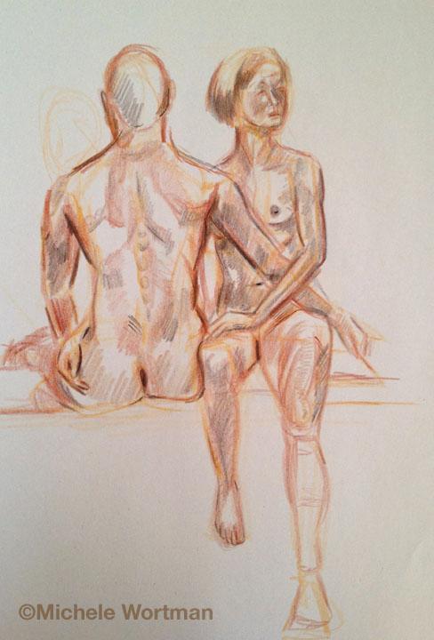 Michele Wortman - Palette&Chisel 2002  20min sketch