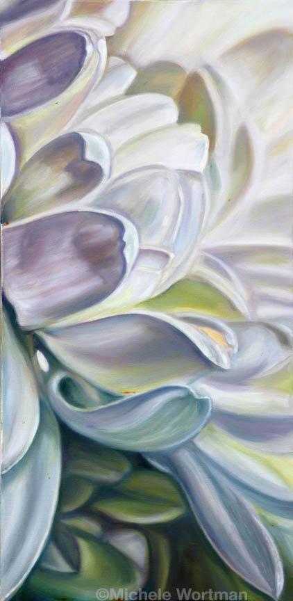 Michele Wortman - White flower2 2008