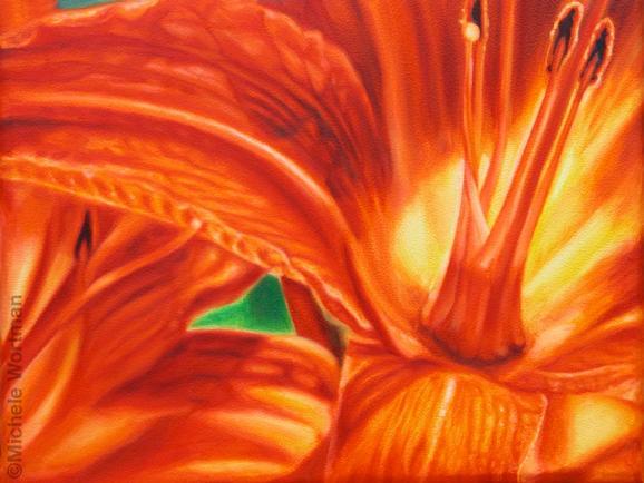 Michele Wortman - Orange lily 2004