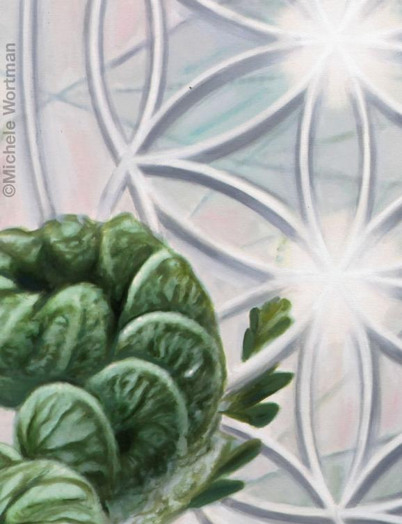 Michele Wortman - Zenscape3 2012 detail