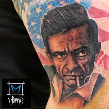 Tattoos - Johnny Cash Walk the Line - 87363