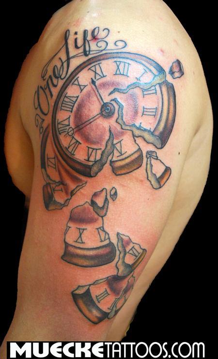 Tattoos - time crumbles tattoo - 70303