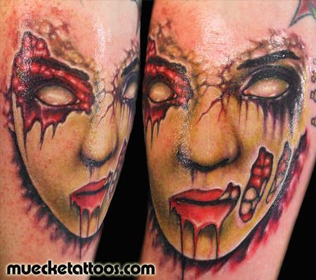 Tattoos - Muecke Zombie Tattoo - 75365