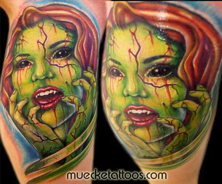 Tattoos - Muecke Horror Tattoo - 75464