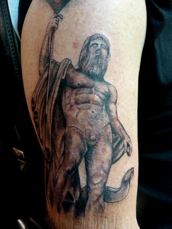 Poseidon Tattoo By Mully Tattoonow