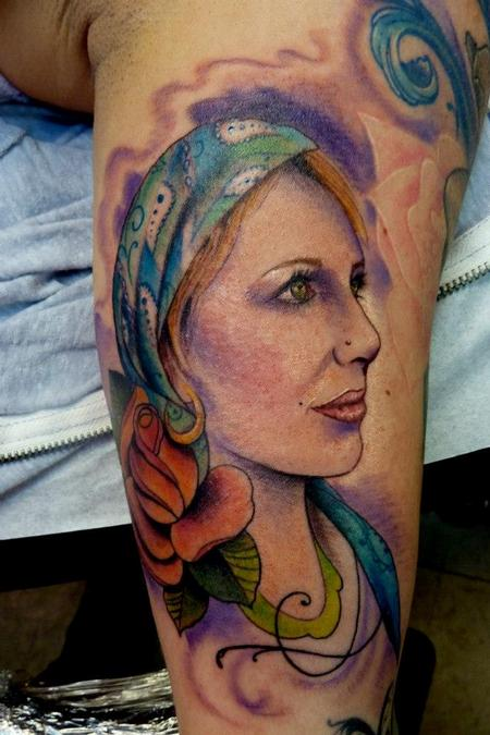 Tattoos - Gypsey girl - 75620