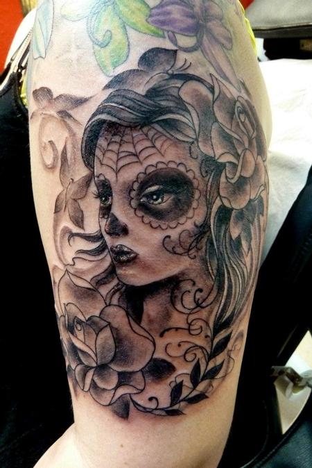 Tattoos - Day of dead girl - 64079