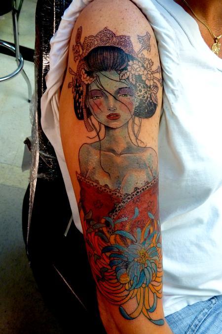 Tattoos - Geisha - 79827