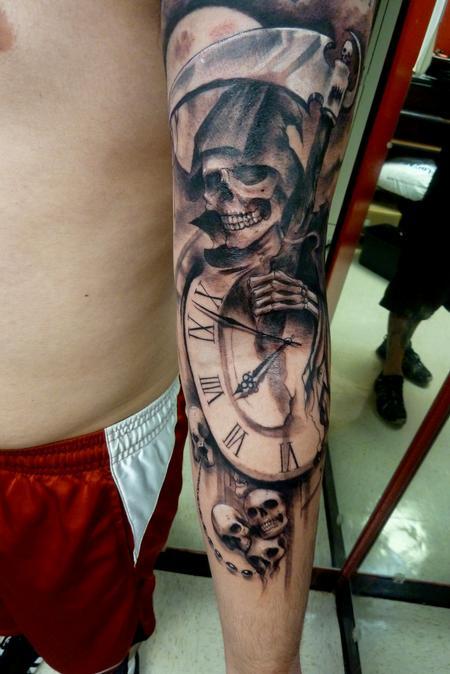 Tattoos - Grim Reaper - 111699