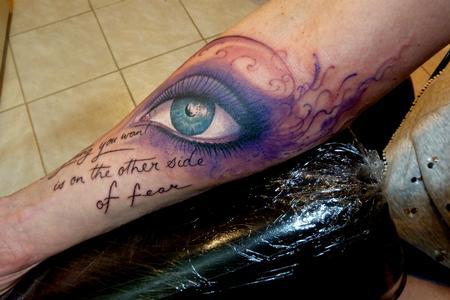 Tattoos - eye - 111698