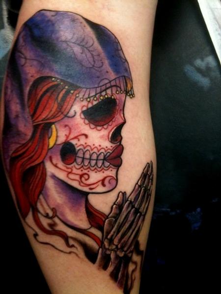 Tattoos - Day of the dead girl - 64063