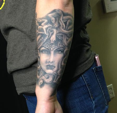 Tattoos - Medusa Tattoo - 140651