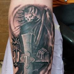 Tattoos - Grim Reaper Tattoo - 140652