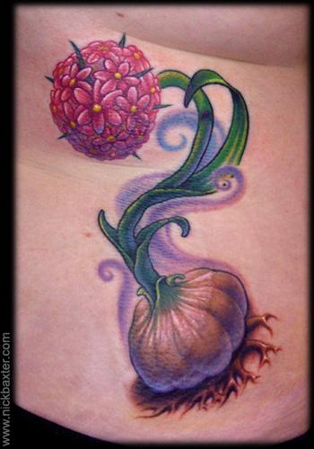 Nick Baxter - Garlic Flower