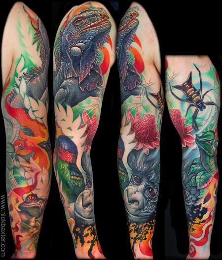 Tattoos - Rainforest Tribute - 99921