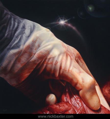Nick Baxter - Hand Of God