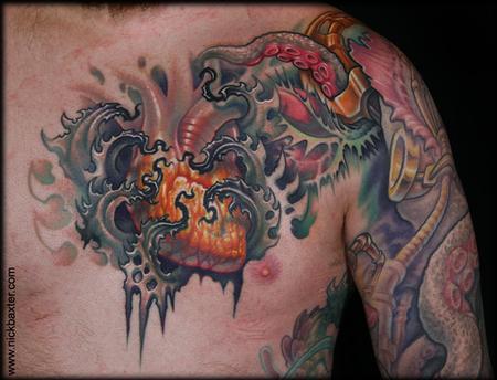 Tattoos - Glowing Heart - 82431