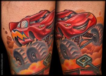 Nick Baxter - cars