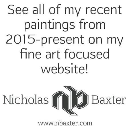 Nick Baxter - Painting Website