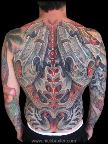 Tattoos - Blademech Backpiece - 67577
