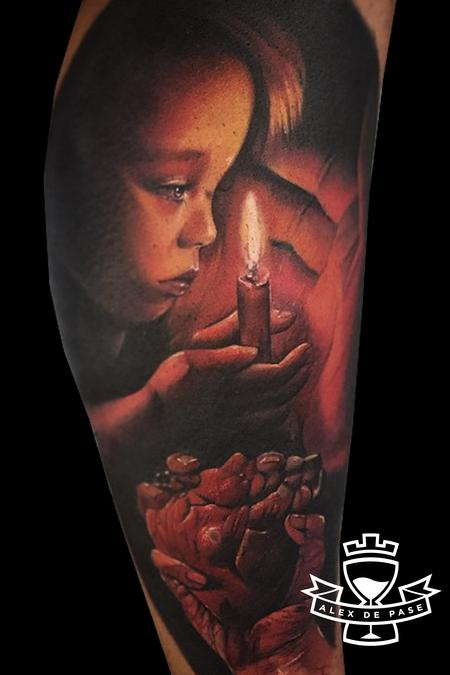 Tattoos - Child hearth and flame - 106514
