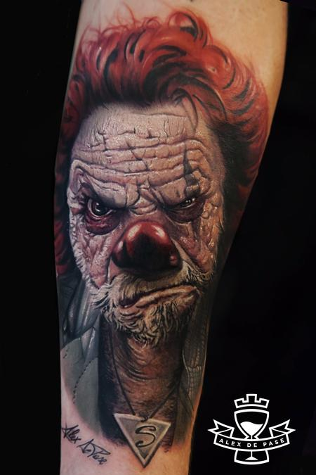 Tattoos - Clown - 99425