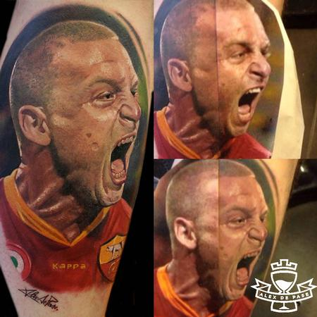 Tattoos - Daniele De Rossi color portrait - 91774