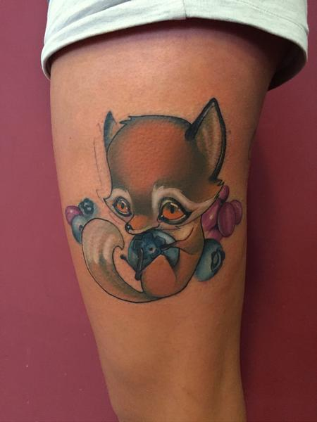 Tattoos - Little fox - 120558