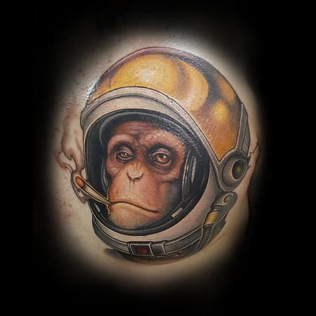 Matt Driscoll - Space Monkey
