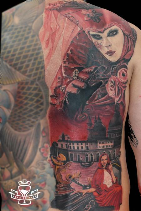 Tattoos - Venice back - 91765