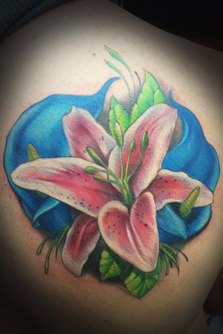 Tattoos - Lillies - 128550