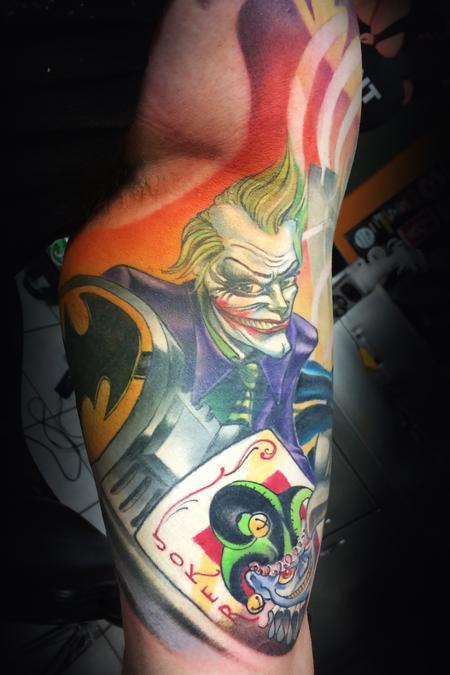 Tattoos - Joker - 128547