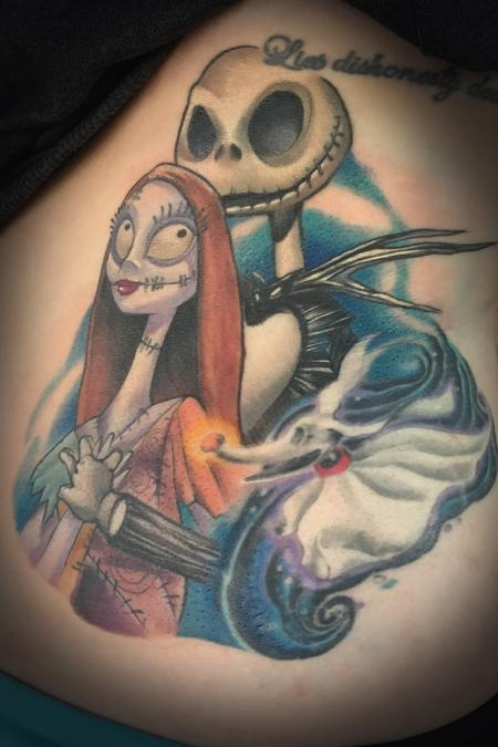 Tattoos - Jack and Sally - 128544