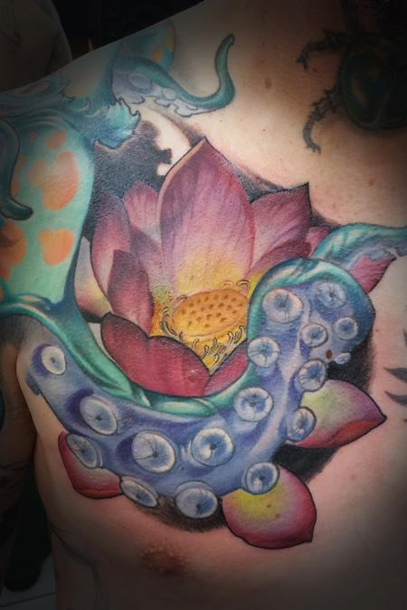 Tattoos - Lotus Tentacle - 128540