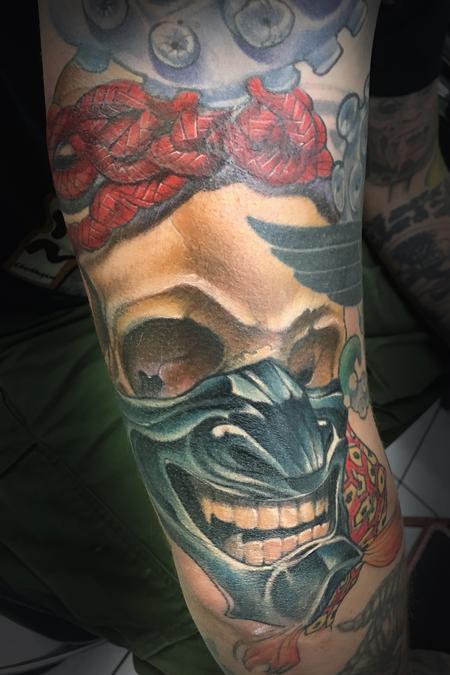 Tattoos - Skull - 128534