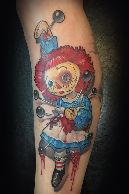 Tattoos - Raggedy Voodoo Ann - 128532
