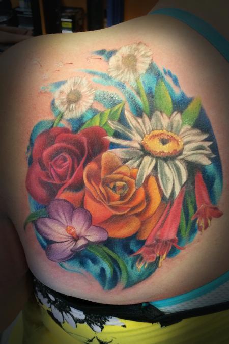 Tattoos - Bouquet - 128523