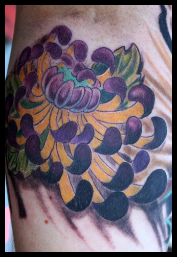 Japanese Flower Tattoo By Phil Robertson Tattoonow