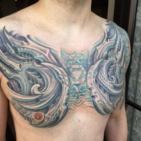 Tattoos - Biomech and spirit crystal - 114925