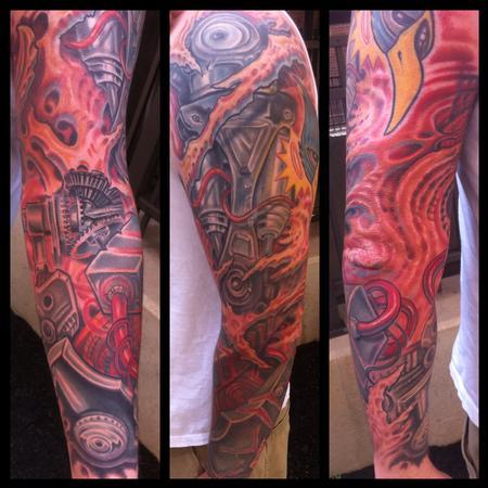 Tattoos - Robotic tattoo - 100997