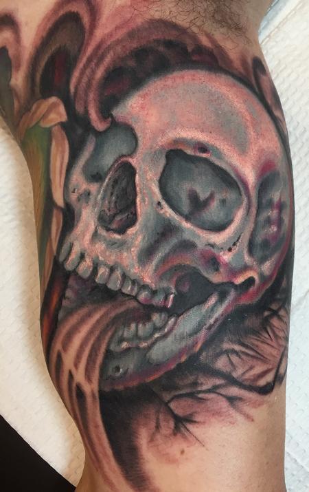Tattoos - Skull tattoo - 114110