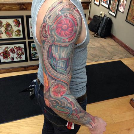 Tattoos - Robot inspired biomech - 100986