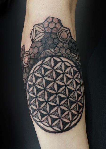 Tattoos - Sacred Geometry - 129075