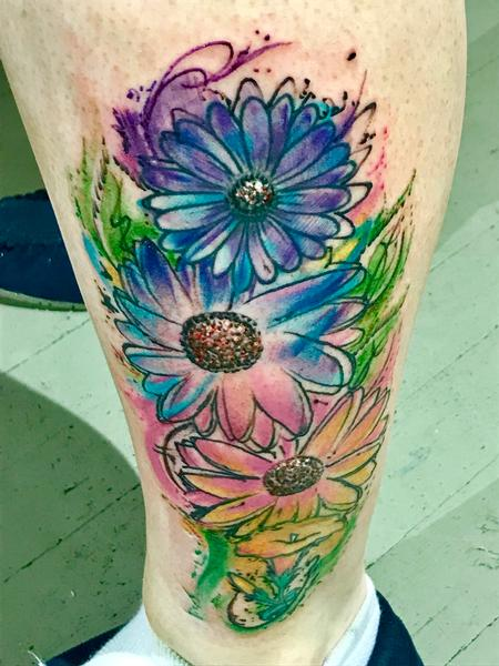 Tattoos - Flower Splashj - 138149
