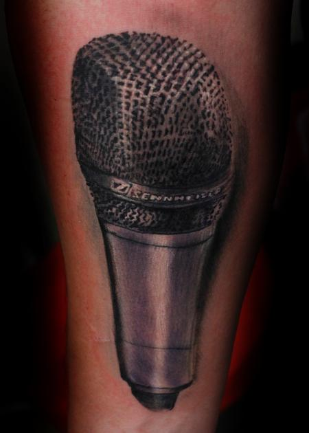 Tattoos - Sennheiser e835 - 124863