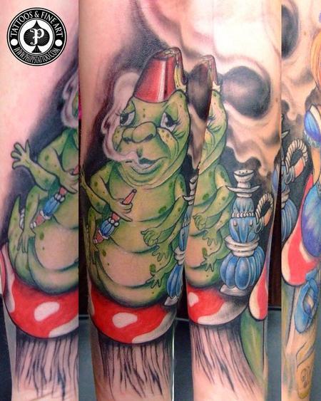 Tattoos - Caterpillar - 77222