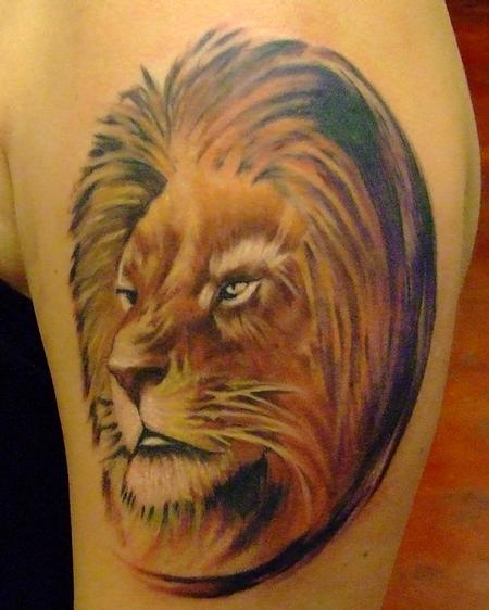 Tattoos - Lion - 77355