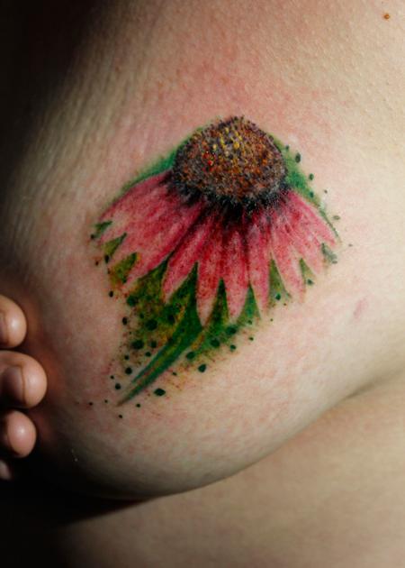 Tattoos - Echinacea - 134292