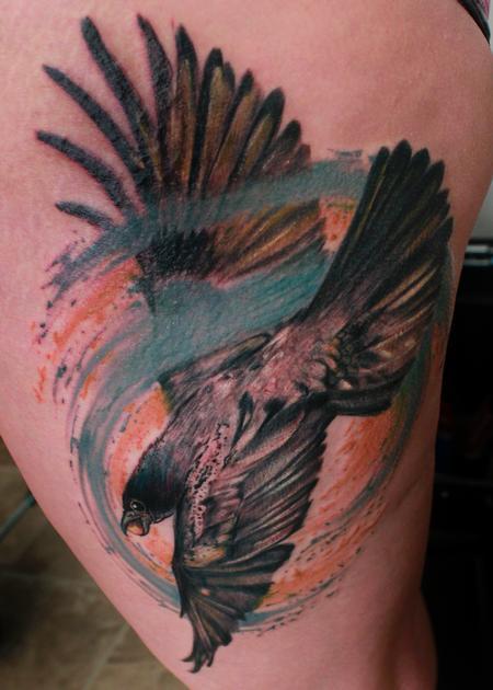 Tattoos - Crow - 116054